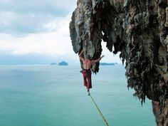 Don't let fear stand in the way of your dreams or taking your life to new & higher places Extreme Photo of the week at National Geographic - Highlining in Koh Yao Noi, Phuket, Thailand Photograph by Scott Rogers Oh The Places You'll Go, Places To Travel, Places To Visit, National Geographic, Phuket Thailand, Krabi, Photos Of The Week, Extreme Sports, Plein Air