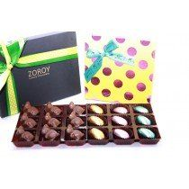 Easter dark chocolate available in Zoroy shopping store at reasonable prices to everyone.  You can send personalize Gift with your message anywhere in India to each other with us.