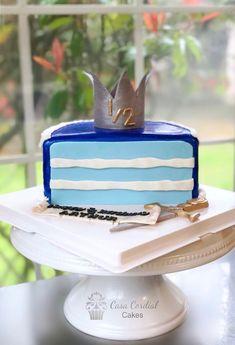 Half Birthday Cake  Fondant Cake