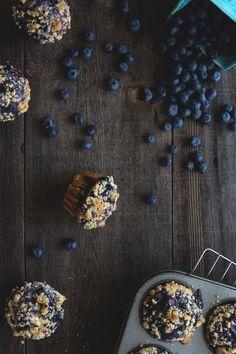 Blueberry Swirl Muffins #recipe