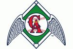 California Angels logo 1965 - 1970.
