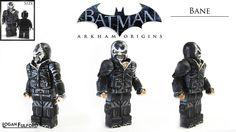 Custom Lego Bane. Bane Batman, Batman Arkham, Lego Batman, Lego Dc, Custom Lego, Darth Vader, The Originals, Fictional Characters