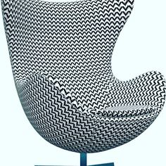 #eggchair #arnajacobsen #radisonblu #competition  #fritzhansen  see here http://www.sadecor.co.za/wordpress/radisson-blu-launched-a-global-contest-to-customise-the-iconic-egg-chair/