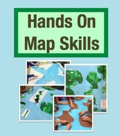 Hands On Map Skills Cross Curricular Project To Teach Map Skills Grades 2 4