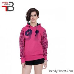 Wear this #PinkSweatshirt for a new look!!! #WinterCollection    #BeTrendy  #Jacket