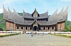 The Pagaruyung Palace, Bukittinggi - West Sumatra