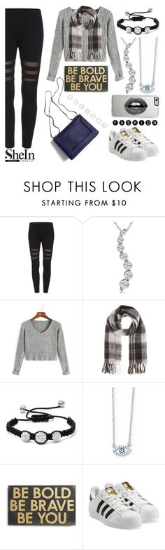 """Holiday Shein Fashion"" by mlgjewelry ❤ liked on Polyvore featuring Amanda Rose Collection, Marc by Marc Jacobs, Oxford Ivy, Wish by Amanda Rose, Primitives By Kathy, adidas Originals, 3.1 Phillip Lim and Lipsy"