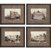 Found it at Wayfair - Paris Icons by Allom 4 Piece Framed Graphic Art Set