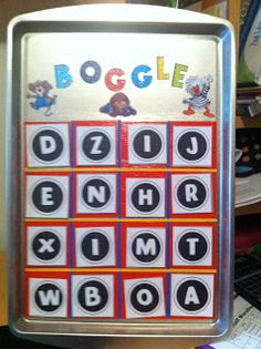 Petite's Teaching Passion: My First Monday Made It! Boggle Board, Boggle Game, Classroom Layout, Classroom Ideas, Classroom Organization Labels, Class Journals, 4th Grade Frolics, Spelling And Handwriting, First Monday