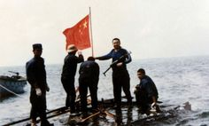 Last century Navy China stationed in South China Sea 中国守岛官兵