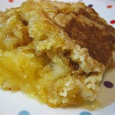 I love dump cake!  use any fruit filling; peach, cherry and pineapple, apple, blueberry... so easy and yummy