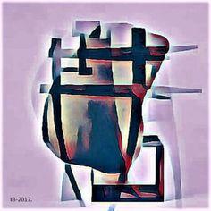 Абстрактное искусство # 2017-Оригинал!