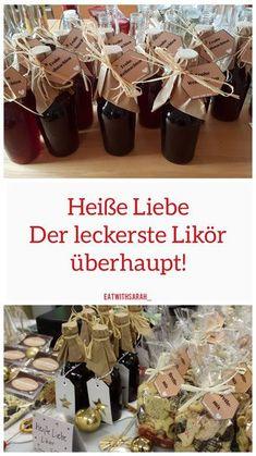 "Unsere ""Heiße-Liebe"" (Likör) – eatwithsarah kalorienarme Rezepte, Gartentipps … Our ""hot-love"" (liqueur) – eatwithsarah low-calorie recipes, gardening tips & Raspberry Liqueur, Raspberry Tea, Vodka, No Calorie Foods, Low Calorie Recipes, Apple Tea, Le Diner, Vegetable Drinks, Non Alcoholic Drinks"
