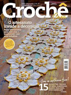 Artesanato com amor...by Lu Guimarães: NOVIDADE: Revista Crochê Casa nº 11
