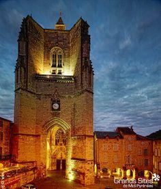 Villefranche de Rouergue - Najac - Grand Site de Midi-Pyrénées (Villefranche de Rouergue - Collégiale Notre-Dame), via Flickr.