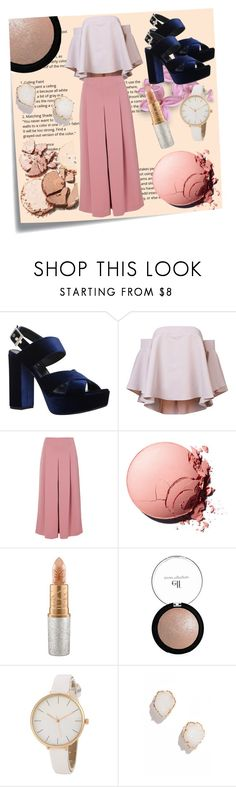 """""""Platforms"""" by spookie1 ❤ liked on Polyvore featuring Post-It, Carvela, Milly, TIBI, Mariah Carey and Kendra Scott"""