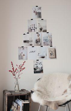 Simple & Cosy Photo Christmas Tree