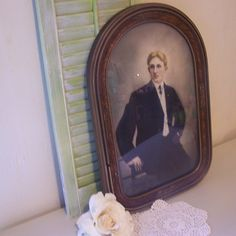 Vintage Tinted Portrait Distinguished Man Great Frame Chicago