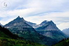 """Oberlin Meets Clements"" Glacier National Park, Montana  // Travel Photography // Landscape Photography // Nature Photography // Mountain Photography // National Park Prints // Want to know the story behind this photo? Check out my blog! evergreen-sea.com"