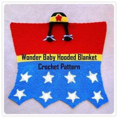 Beginning Crochet Wonder Baby Hooded Blanket Crochet Pattern Crochet For Beginners Blanket, Baby Afghan Crochet, Crochet Blanket Patterns, Baby Patterns, Crochet Blankets, Baby Blankets, Baby Afghans, Sewing Patterns, Crochet Pillow