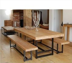 American Retro Furniture Rustic Wrought Iron Wood Tables And Chairs  Conference Chairs Casual Cafe Dining Suite