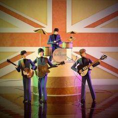 The Beatles Paper Artwork