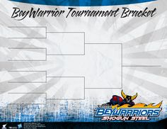 Use this bracket to keep track of the action happening at your tournament.