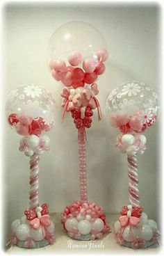 Pink Balloon Bubbles