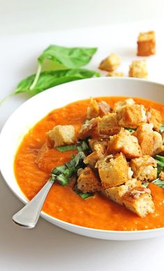 soup with gruyere croutons fresh tomato soup with gruyere croutons ...