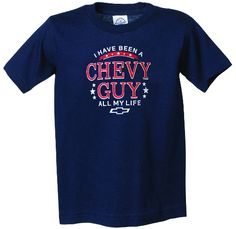 Chevy Guy All My Life Youth T-Shirt
