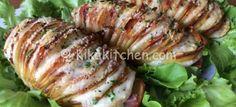 Patate hasselback (patate farcite al forno) | Kikakitchen