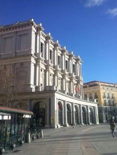Madrid, Teatro Real.