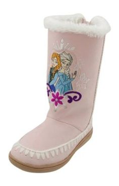 Disney Frozen Winter Boots for Girls will be a hot back to school item this fall.  They are in stock now with many sizes available.