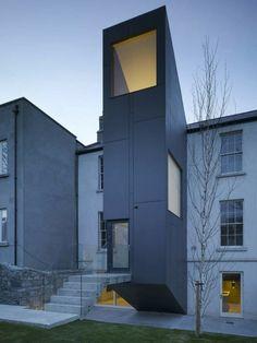 minimalistische Architektur-Irland