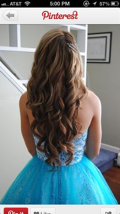 Prom hair (love the dress too)