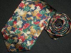 Vintage Christian Dior Tie Monsieur Floral Mens by TheTieParadise