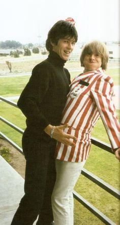 Keith Richards and Brian Jones.