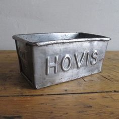CUTE SMALL HOVIS TIN - The Hoarde