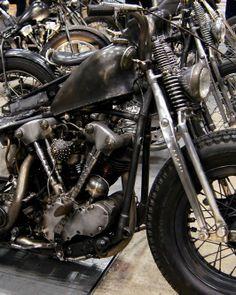 Raw steel knucklehead