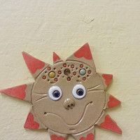 Art For Kids, Pikachu, Clay, Fictional Characters, Sun, Art For Toddlers, Clays, Art Kids, Modeling Dough