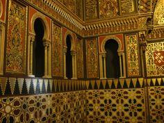 Mauritanian Parlor of Yusupov Palace, Saint Petersburg, Russia.