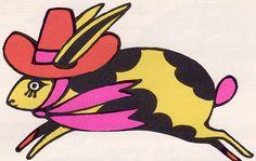 illustration by john alcorn, from 'the fireside book of children's songs' (1966)