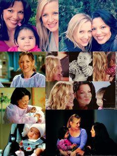 Calzona's family | Grey's Anatomy - Callie Torres, Arizona Robbins and Sofia Robbins Sloan Torres
