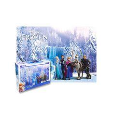สินค้าที่มีคนกล่าวถึงจำนวนมาก ราคาถูก Frozen - Snow World puzzle 500 Piece Jigsaw Puzzles Walt Disney (Export) - Intl สั่งซื้อออนไลน์ ในราคาถูก