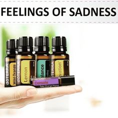 "As someone who suffers from depression from time-to-time this ""Feelings of Sadness"" protocol is one of my most loved!  . For a quick uplift place 8 drops of Wild Orange and 8 drops of Lemon into your diffuser. Also apply 1 drop of Elevation (the Joyful Blend) on your chest (over your ) a few drops of Balance (the Grounding Blend) on the bottom of your feet and Console (the Comforting Blend) along your wrists and behind your ears! . Try it and let me know what you think!"