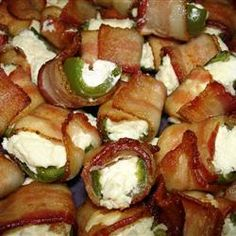 Bacon Wrapper Jalapeno Poppers