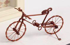 Most popular aluminum bicycle mountain bike racing bike Men's cycling ladies' cycling wedding cake topper miniature bicycle 11cm 20g