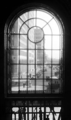 View from Inside the Fisher Building, Detroit, Michigan