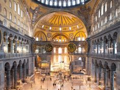 The World's 20 Best Cities for Architecture Lovers - Condé Nast Traveler Cathedral Architecture, City Architecture, Amazing Architecture, Ankara, Visit Istanbul, Hagia Sophia, Architect House, Beautiful Places In The World, Best Cities