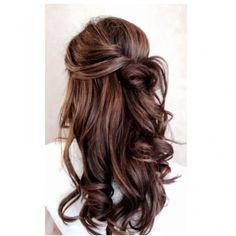 Fryzury na sylwestra eleganckie loki i fale ❤ liked on Polyvore featuring hair